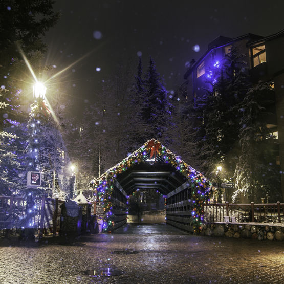 Spend the holidays in Vail Colorado
