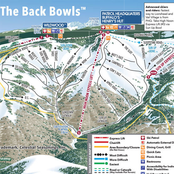 Vail's Legendary Back Bowls Now Open
