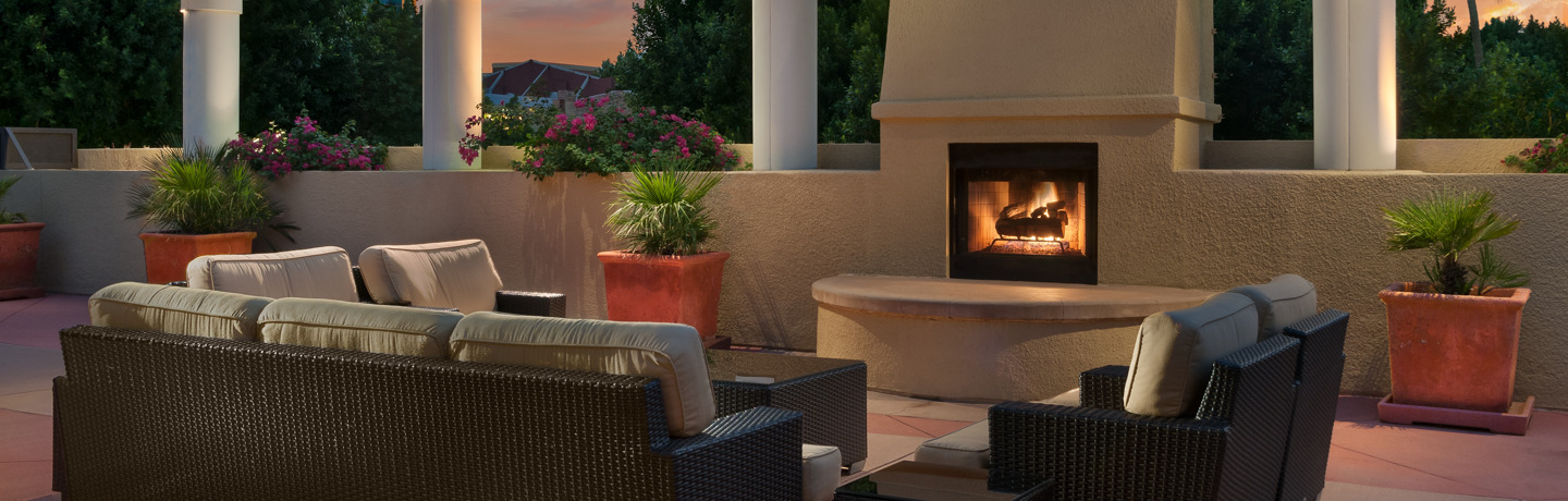 Tempe Outdoor Fireplace Seating