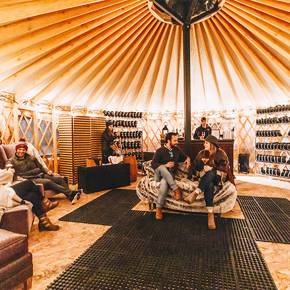 Grand Hyatt Vail Opens a Swank Slopeside Yurt